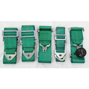 NRG ® - Green 6 Point 3 Inches Cam Lock Seat Belt Harness (SBH-6PCGN)