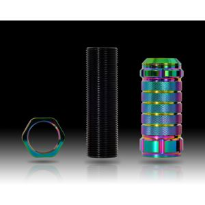 NRG ® - Neochrome Stealth Adjustable Shift Knob (SK-500MC-1)