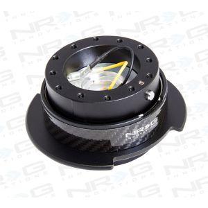 NRG ® - Quick Release Black Body with Black Carbon Fiber Ring (SRK-250CF)