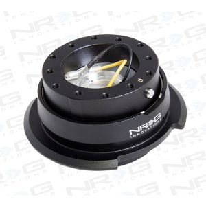 NRG ® - Quick Release Black Body with Diamond Cut Black Ring (SRK-280BK)