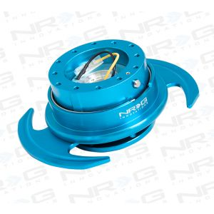 NRG ® - Quick Release New Blue Body and New Blue Ring with Handles (SRK-650NB)