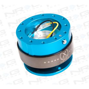 NRG ® - Quick Release New Blue with Titanium Chrome Ring (SRK-200NB)