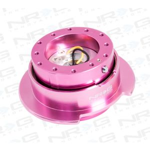 NRG ® - Quick Release Pink Body with Pink Ring (SRK-250PK)