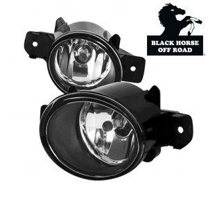 Black Horse Off Road ® - OEM Replica Clear Fog Lights (NS561OE)