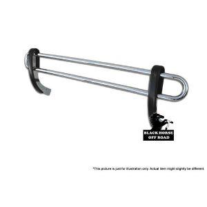 Black Horse Off Road ® - Rear Bumper Guard (8NIQUSS)
