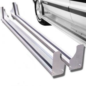 Black Horse Off Road ® - 120 Inch Commercial Running Boards (RUN120SS)