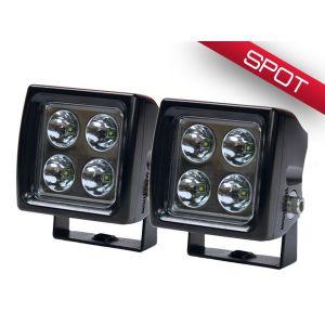 Wurton ® - 3 Inch 5 Watt Dual Scout LED Spot Beam Cube Light (38041)