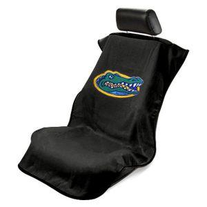 Seat Armour ® - Black Towel Seat Cover with NCAA UF Gators Logo (SA100GATORS)