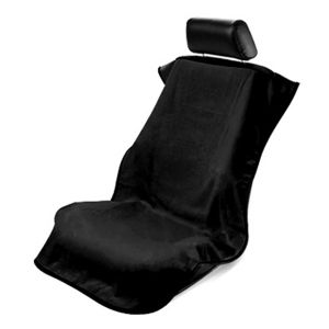Seat Armour ® - Black Towel Seat Cover without Logo (CST-BLK)