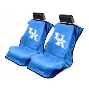 Seat Armour ® - Pair of Blue Towel Seat Covers with NCAA Kentucky Wildcats Logo (SA100KENT)