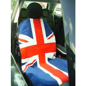 Seat Armour ® - Pair of Towel Seat Covers with RWB British Flag (SA100MINIRWB)