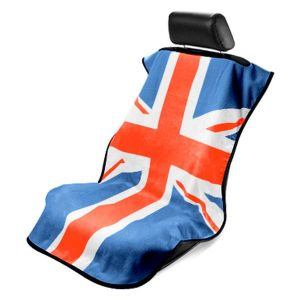 Seat Armour ® - Towel Seat Cover with RWB British Flag (SA100MINIRWB)