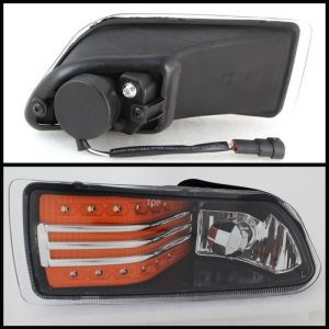 Spyder Auto ® - Amber LED Fog Lights (5075222)
