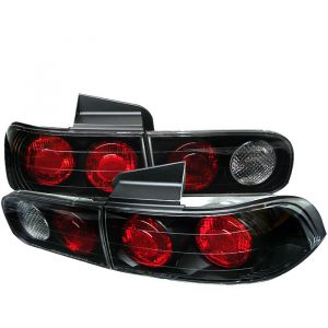 Spyder Auto ® - Black Euro Style Tail Lights (5000200)