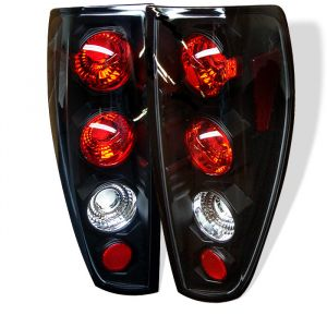 Spyder Auto ® - Black Euro Style Tail Lights (5001412)