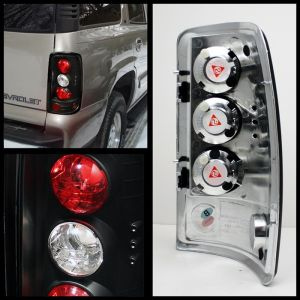 Spyder Auto ® - Black Euro Style Tail Lights (5001474)