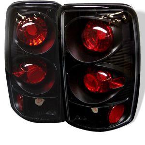 Spyder Auto ® - Black Euro Style Tail Lights (5001498)