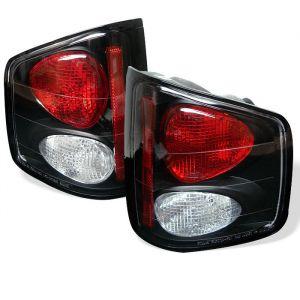 Spyder Auto ® - Black Euro Style Tail Lights (5001887)