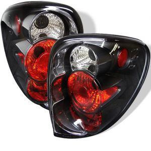 Spyder Auto ® - Black Euro Style Tail Lights (5002211)