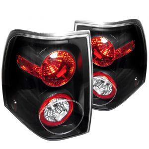 Spyder Auto ® - Black Euro Style Tail Lights (5002792)