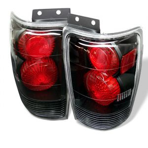 Spyder Auto ® - Black Euro Style Tail Lights (5002822)