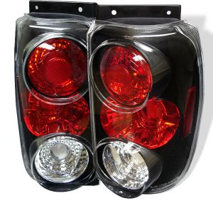Spyder Auto ® - Black Euro Style Tail Lights (5002990)