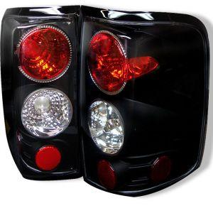 Spyder Auto ® - Black Euro Style Tail Lights (5003195)