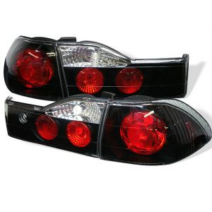 Spyder Auto ® - Black Euro Style Tail Lights (5003959)