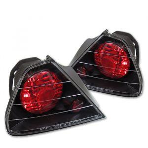 Spyder Auto ® - Black Euro Style Tail Lights (5004253)