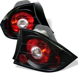 Spyder Auto ® - Black Euro Style Tail Lights (5004369)