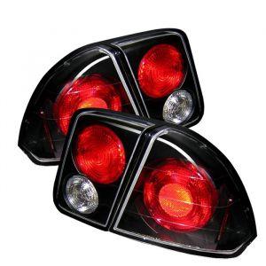 Spyder Auto ® - Black Euro Style Tail Lights (5004406)