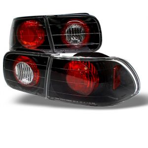 Spyder Auto ® - Black Euro Style Tail Lights (5004581)
