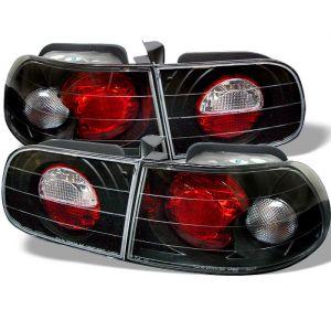 Spyder Auto ® - Black Euro Style Tail Lights (5004680)