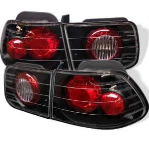 Spyder Auto ® - Black Euro Style Tail Lights (5004796)