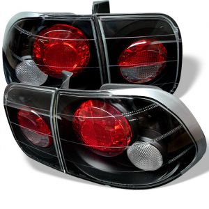 Spyder Auto ® - Black Euro Style Tail Lights (5004970)