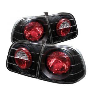 Spyder Auto ® - Black Euro Style Tail Lights (5005076)