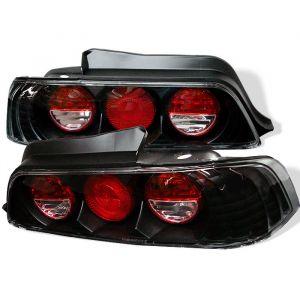 Spyder Auto ® - Black Euro Style Tail Lights (5005274)