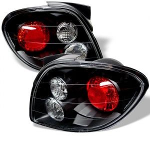 Spyder Auto ® - Black Euro Style Tail Lights (5005403)