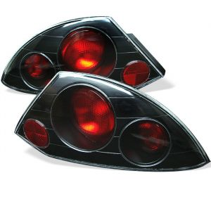 Spyder Auto ® - Black Euro Style Tail Lights (5006288)