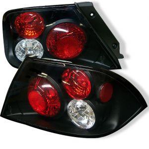Spyder Auto ® - Black Euro Style Tail Lights (5006417)
