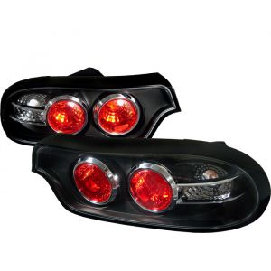 Spyder Auto ® - Black Euro Style Tail Lights (5006523)