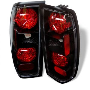 Spyder Auto ® - Black Euro Style Tail Lights (5006837)