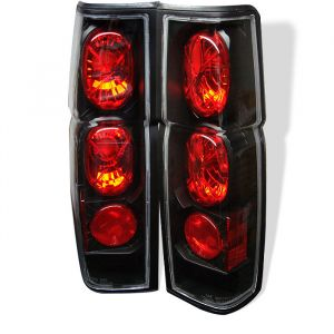 Spyder Auto ® - Black Euro Style Tail Lights (5006875)