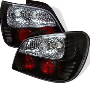 Spyder Auto ® - Black Euro Style Tail Lights (5007193)