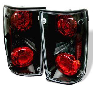Spyder Auto ® - Black Euro Style Tail Lights (5007636)