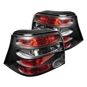 Spyder Auto ® - Black Euro Style Tail Lights (5008343)