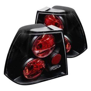 Spyder Auto ® - Black Euro Style Tail Lights (5008381)