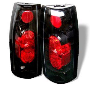 Spyder Auto ® - Black G2 Euro Style Tail Lights (5001320)