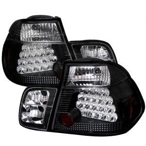 Spyder Auto ® - Black LED Tail Lights (5000736)