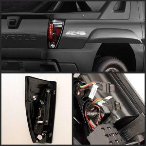 Spyder Auto ® - Black LED Tail Lights (5001061)